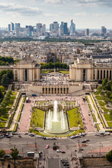 Aerial View on Trocadero and La Defense From the Eiffel Tower, P