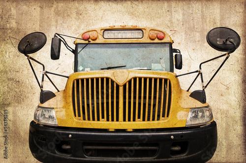 Fototapeten,bus,schule,bus,kutsche