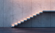 illuminated stairs - 54337047