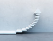 Leinwandbild Motiv stairs going  upward