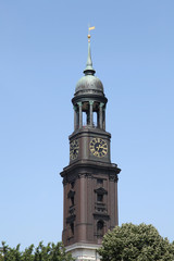 Sankt Michaelis Kirche - der Hamburger Michel