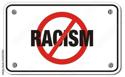 anti racism triangle sign