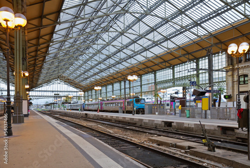 railway station, Tours, France