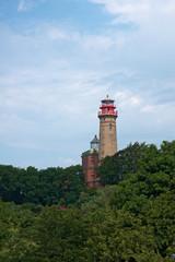 Leuttürme auf Kap Arkona, Rügen, Deutschland