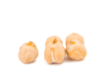 chickpeas isolated