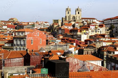 Cityscape of Porto, Portugal.