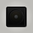 Square speaker icon