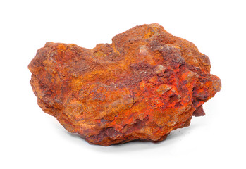 Iron ore - Hematite from Island of Elba, Italy.