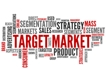 Target Market (tag cloud)