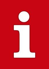 information symbol, rot