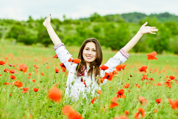happy ukrainian girl