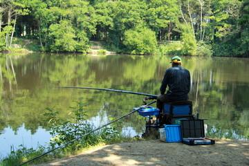 pêcheur à Bétineuc