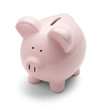 Pink Piggy Bank - 54343017