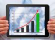 Umsatzkurve - Business Chart