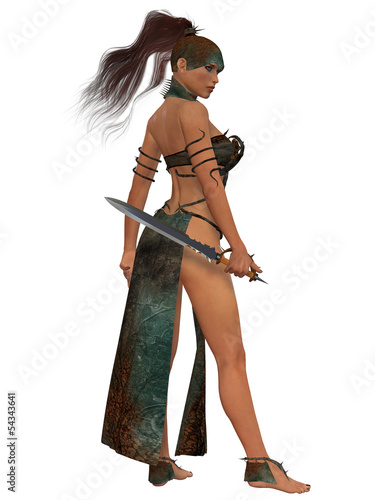 Blackthorn Woman Warrior