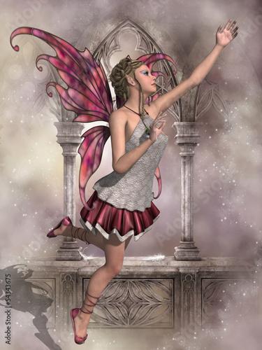 Spoed canvasdoek 2cm dik Feeën en elfen Buttercup Fairy