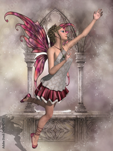 Poster Feeën en elfen Buttercup Fairy