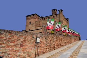 Castello a Grinzane Cavour Italia Piemonte
