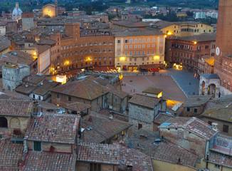 Piazza del Campo.Siena,Tuscany.