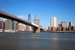 Pont de Brooklyn vers Manhattan, New York