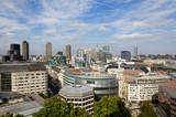 London city view from the top of St. Paul Cathedral
