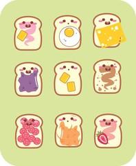 Scrapbook - Bread - Pão