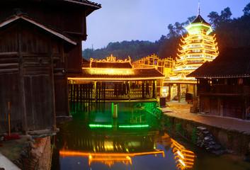Zhaoxing Town, Liping County, Guizhou, China. Zhaoxing Dong