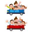 家族三世代でドライブ