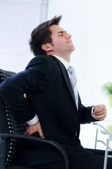 rückenschmerzen auf der arbeit