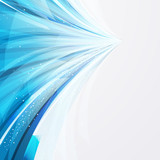 abstract background wiht transparent blue-gray elements.