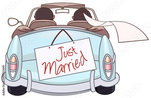 just married - 54352649