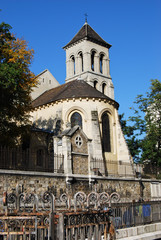 Old church in Paris