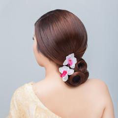 bridal   hair style.