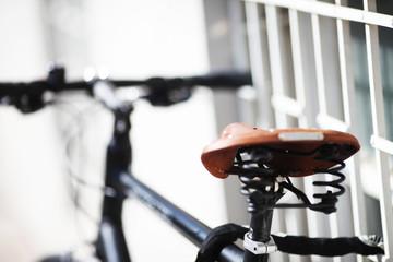 Fahrrad von hinten