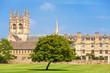 Merton College. Oxford, UK