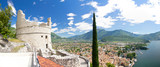 Fototapety Bastion, Riva del Garda, Gardasee, Monte Brione, Italien