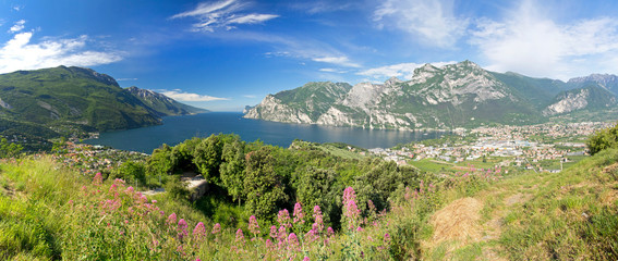 Gardasee, Riva del Garda, Torbole, Monte Brione, Italien