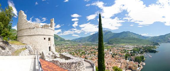 Bastion, Riva del Garda, Gardasee, Monte Brione, Italien