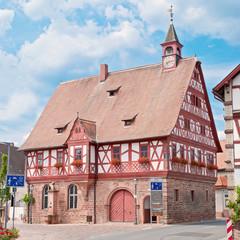 Historisches Rathaus in Großheubach im Spessart