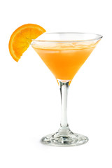 cocktail with orange juice