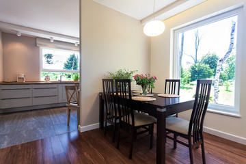 Bright space - dining room