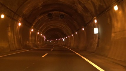 lonely road tunnel