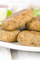 Shami Kebab - Minced meat and chana dal patties