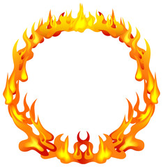 Frame of the flame
