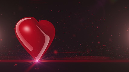 Heart rotating