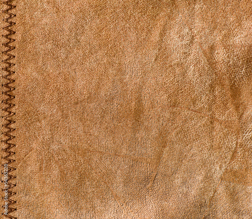 Old leather, brown leather texture