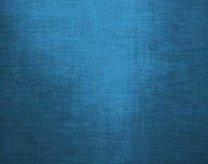 Blue canvas grunge background texture