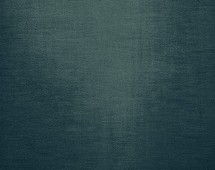 Teal blue canvas grunge background texture