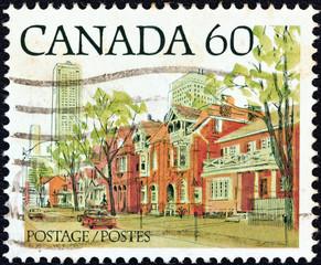 Ontario street scene (Canada 1982)
