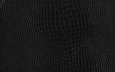 Black Gridded Leather Texture